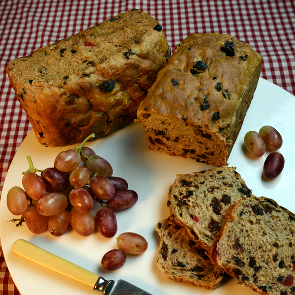 Luxury Plum Bread